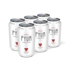 Pyur Vodka Soda Raspberry 6 x 355ml