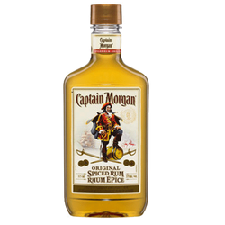 products captain morgan spiced spiced rum 375ml