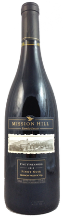 Mission Hill 5 Vineyards Pinot Noir 750ml