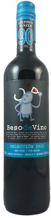 Beso de Vino Seleccion Red Blend 750mL
