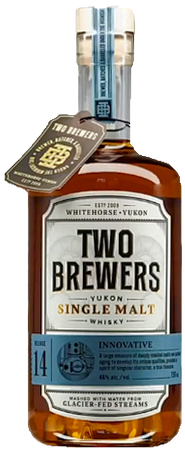 Two Yukon Single Malt Two Brewers Relase 14 Innovative 750ml