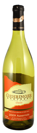 Gehringer Brothers Classic Auxerrois 750mL