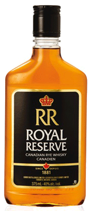 Corby Royal Reserve Rye Whisky 375ml