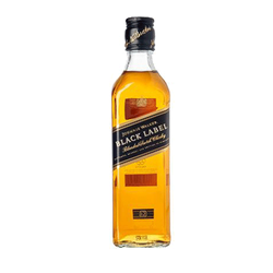 Johnnie Walker Black Blended Scotch Whisky 375ml