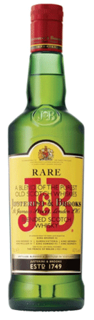J & B Rare Scotch Whisky 750ml