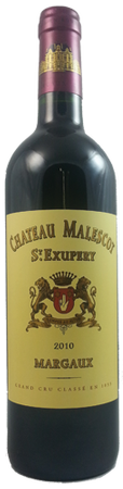 Chateau Malescot St. Exupery Margaux 2010 750ml