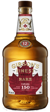 Gibson's Finest 12yr Old Canadian Whisky 750ml