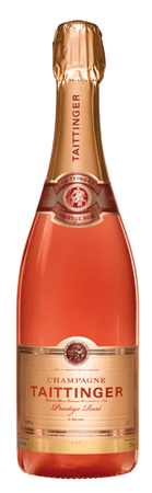Taittinger Brut Prestige Rose Champagne 750 mL