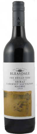 Bleasedale Broad Side Cabernet/Shiraz/Malbec Red Blend 750ml