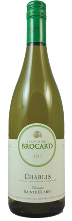 Jean Marc Brocard Chablis 750ml