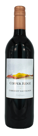 Copper Ridge Cabernet Sauvignon 750ml