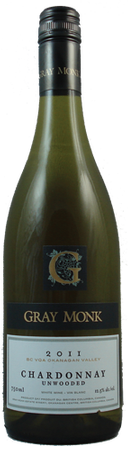 Gray Monk Unwooded Chardonnay 750mL