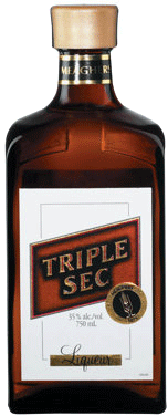 Meagher Triple Sec Orange Liqueur 750ml