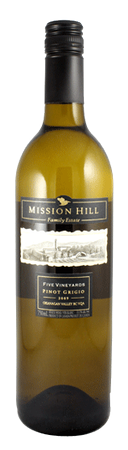 Mission Hill 5 Vineyards Pinot Grigio 750ml