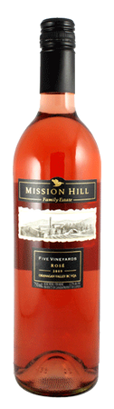 Mission Hill 5 Vineyards Rose 750ml