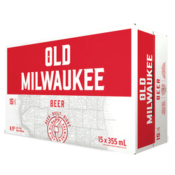 Old Milwaukee Lager 15 x 355ml