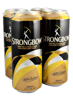 Strongbow Cider Apple Cider 4 x 500ml