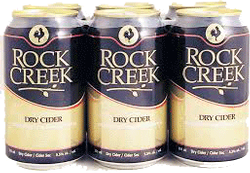 Rock Creek Spiced Apple Cider 6 x 355ml