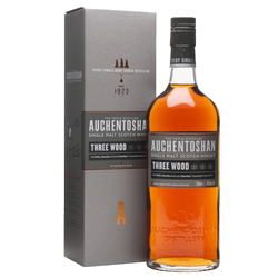 Auchentoshan Three Wood Single Malt Scotch Whisky Lowlands 750ml