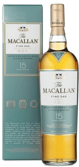 The Macallan 15 Yr. Old Scotch Whisky 750ml