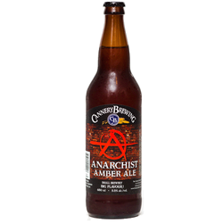 Cannery Brewing Anarchist Amber Ale 650ml