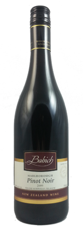 Babich Marlborough Pinot Noir 750ml