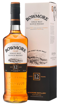Bowmore 12 Year Old Scotch Whisky 750ml