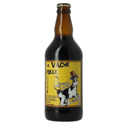Charlevoix La Vache Folle Imperial Milk Stout 500ml