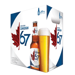 Molson Canadian 67 Lager 6 x 341ml