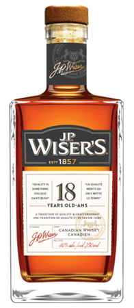 J.P. Wiser's 18yr Old Canadian Whisky 750ml Image