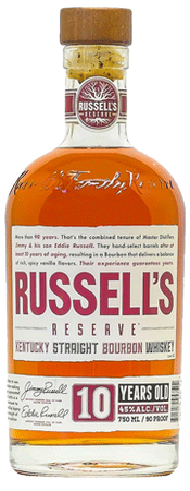 Russell's Reserve 10yr Old Bourbon 750ml