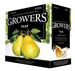 Growers Pear Cider 6 x 330ml