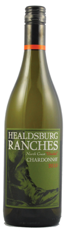 Healdsburg Ranches Unoaked Chardonnay 750ml