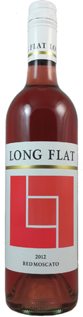 Long Flat Red Moscato 750ml