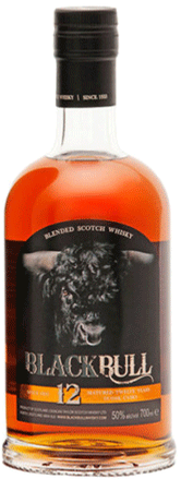 Duncan Taylor Black Bull 12yr Old Blended Scotch Whisky 750ml