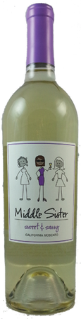 Middle Sister Sweet & Sassy Moscato 750mL