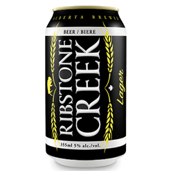 Ribstone Creek Lager 6x355ml can