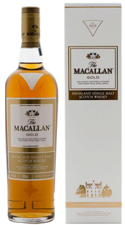 The Macallan 1824 Gold Single Malt Whisky 750ml