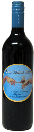 Our Daily Red Red Blend 750ml (Organic - no detectible sulphites)