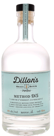 Dillon's Method 95 Grape Vodka 750ml