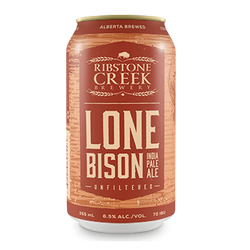 Ribstone Creek Brewery Lone Bison IPA 6 x 355ml