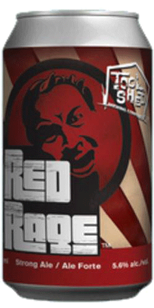 Tool Shed Brewing Red Rage Ale 6 x 355ml