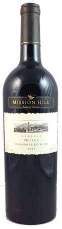 Mission Hill Reserve Merlot 750ml