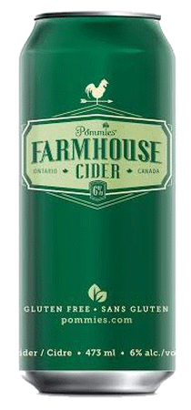 Pommies Farmhouse Apple Cider 473ml Image