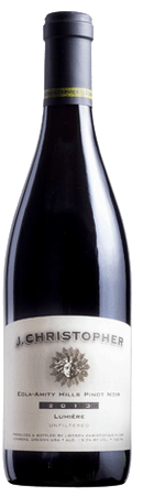 J Christopher Lumiere Eola Amity Hills Pinot Noir 750ml
