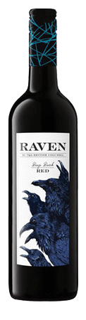 Raven Deep Dark Red 750ml