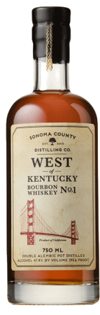 Sonoma West of Kentucky Bourbon Whiskey No. 1 750ml