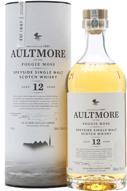 Aultmore 12 Year Old Single Malt Scotch Whisky Speyside 750ml