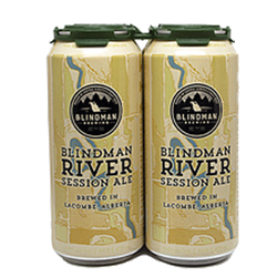 Blindman Brewing Blindman River Session Ale 4 x 473 mL