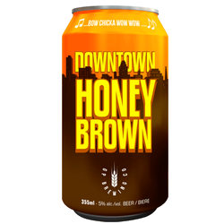 GP Brewing Co. Downtown Honey Brown Ale 6 x 355ml